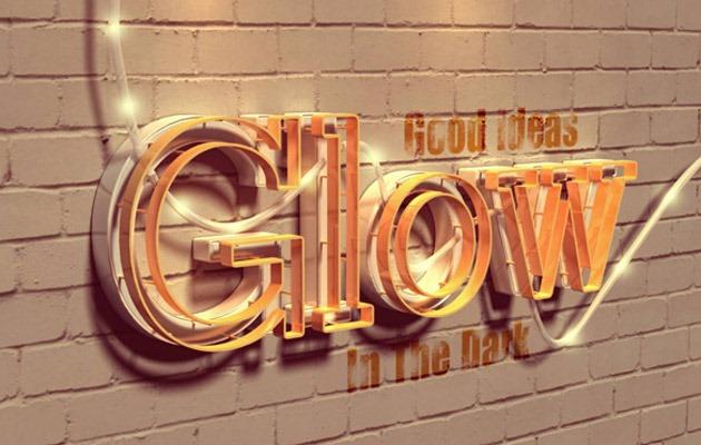 glow-text-effect
