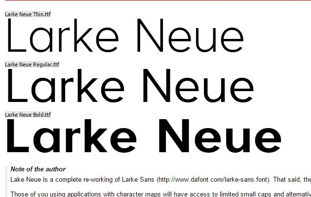 lark-neue
