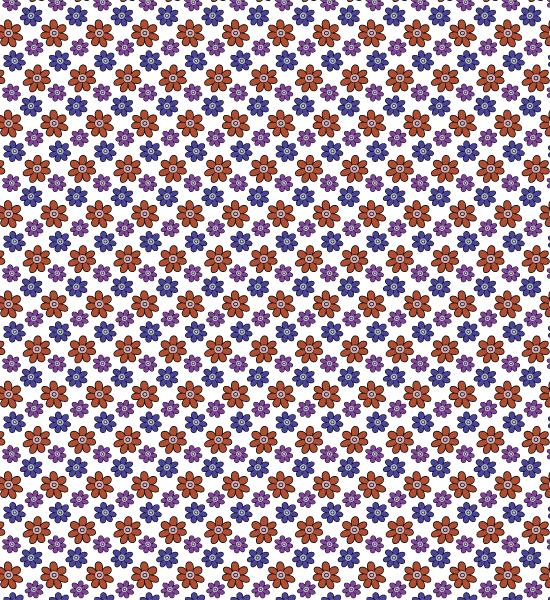 colorfulbluepetalpattern