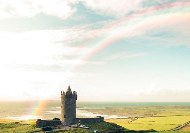 rainbow-effect