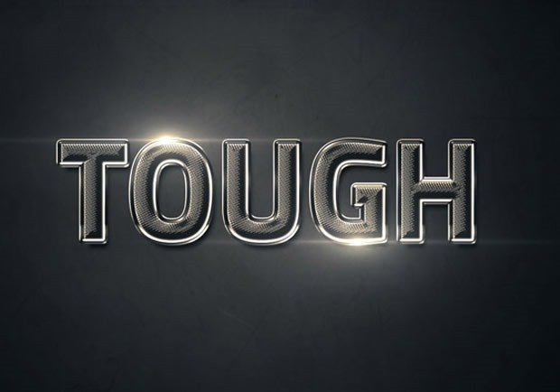 tough-text-effect