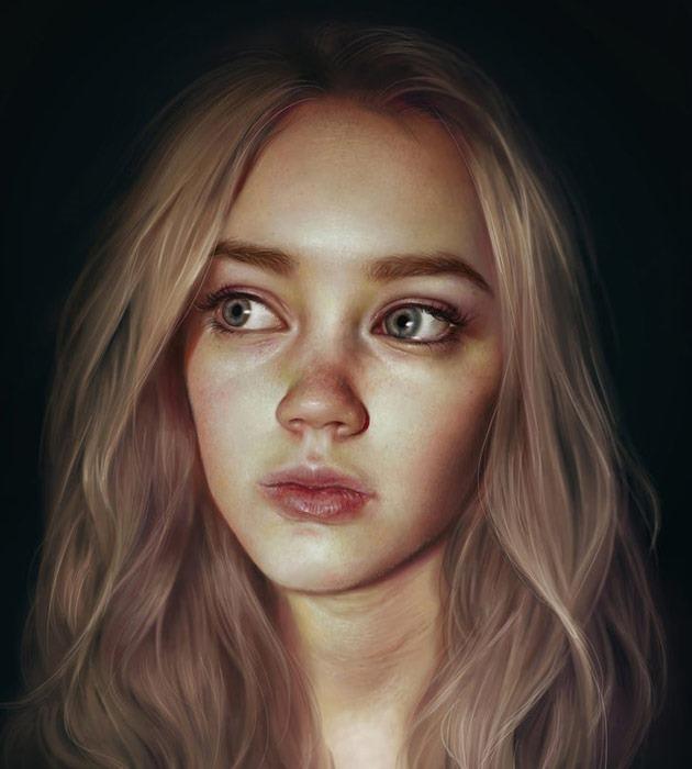 25 Beautiful Realistic Digital Art Portraits Creative Nerds