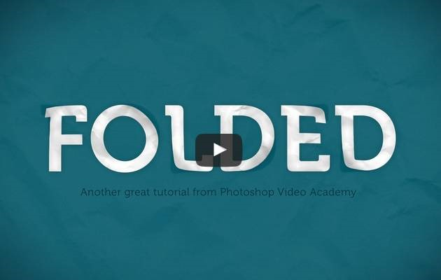 folded-text-effect