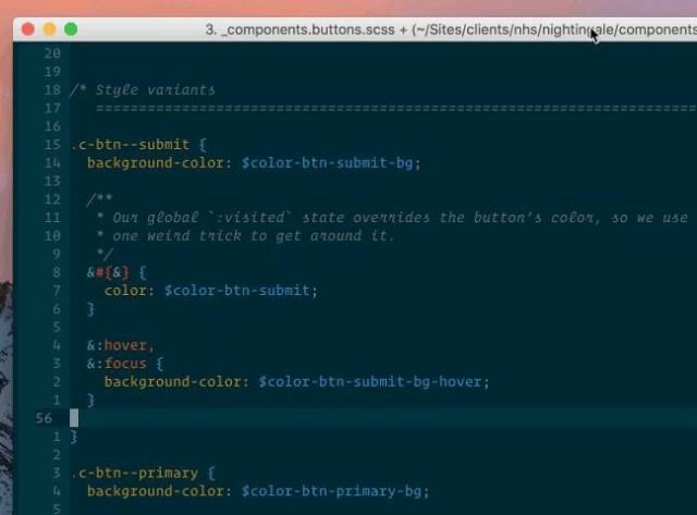 tidy-code