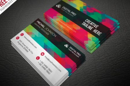 50 free PSD business card template designs   Creative Nerds This is a roundup of 50 high quality free PSD based business card designs   which are all superbly designed business cards completely free to use