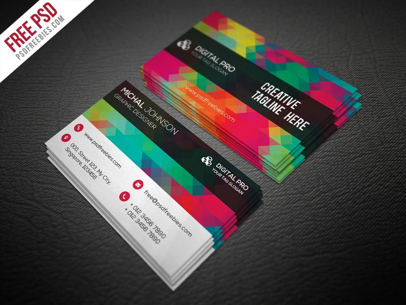 50 Free Psd Business Card Template Designs Creative Nerdscreative Nerds