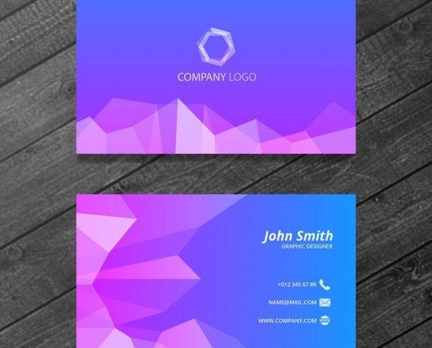 polygonal-buisness-card