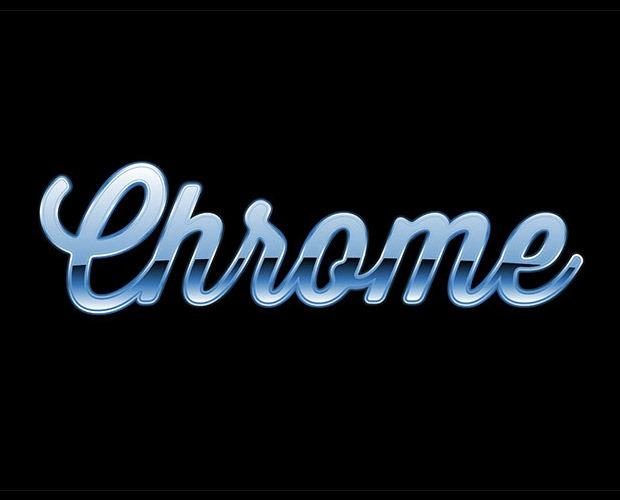 chrome-text