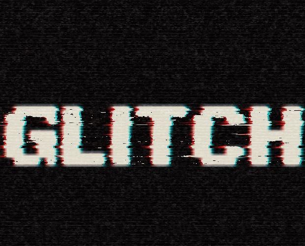 glitch-text