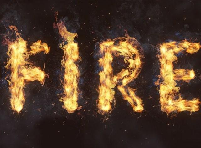 fire-text