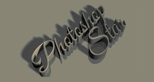 3D-typography
