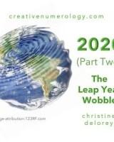 2020 (Part 2) THE LEAP YEAR WOBBLE