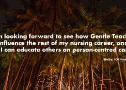 I am looking forward to see how Gentle Teaching-cor