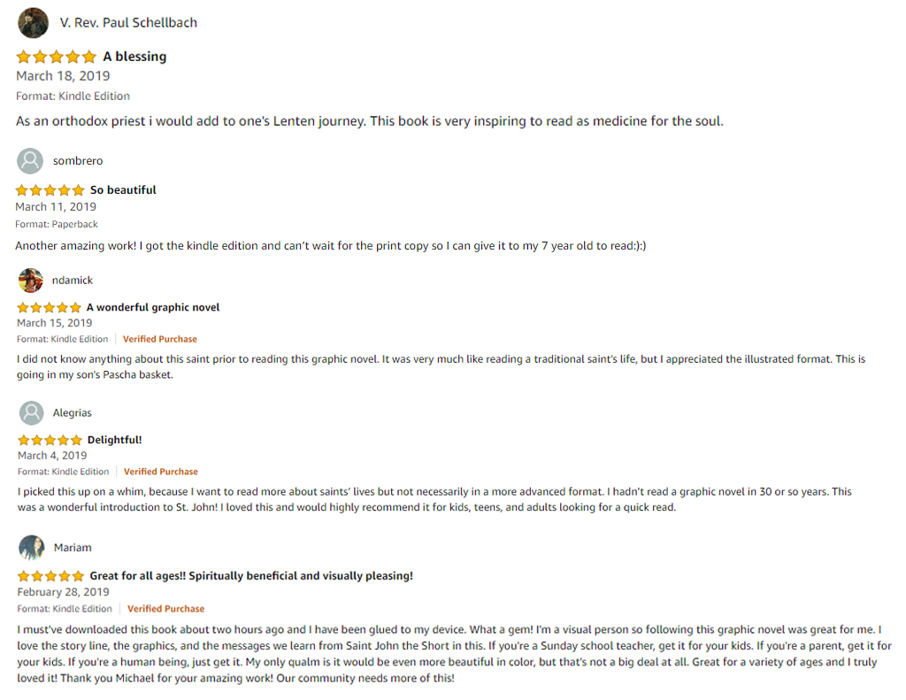 St John The Short Book Reviews From Amazon