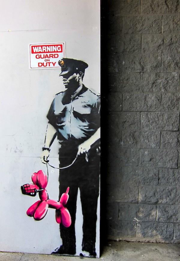 29 Banksy Original And Inspired Works Of Street Art ...