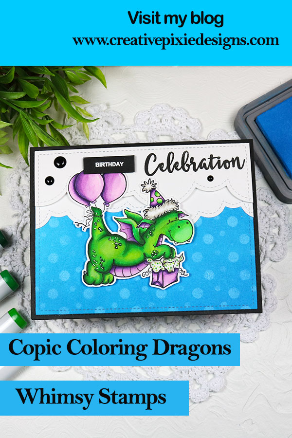 Whimsy Stamps Dragon Party
