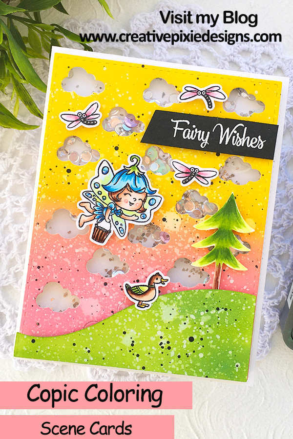 Your Next Stamp Wishing Well Fairy