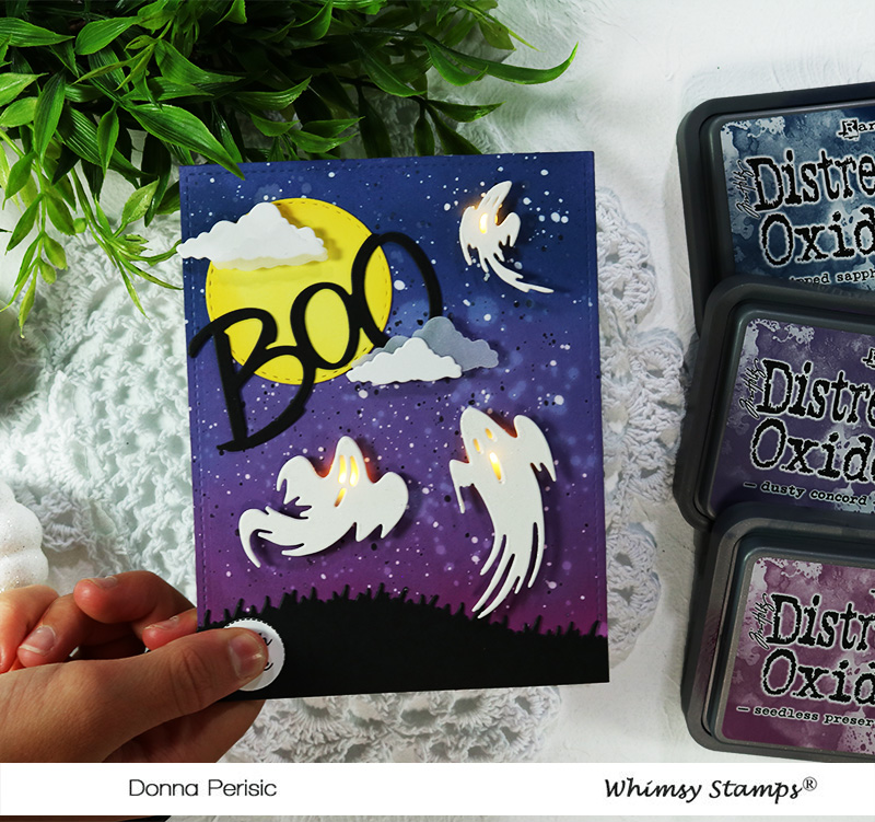 Whimsy Stamps Boo Die Set.