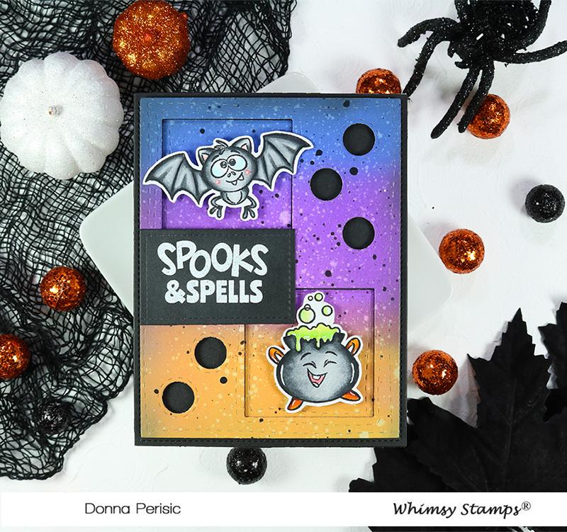 Whimsy Stamps Spooks and Spells