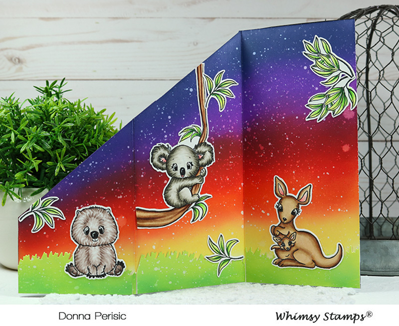 Whimsy Stamps Aussie Friends