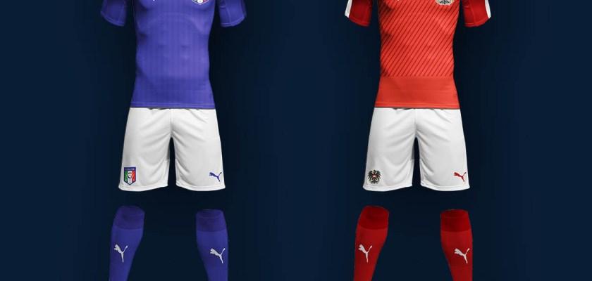 Free PSD Soccer Uniform Mockup