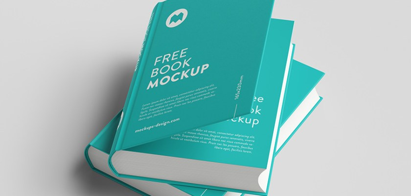 Free PSD Thick Book Multi View Mockup