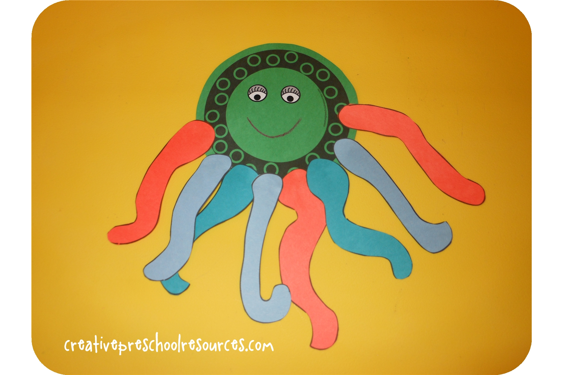 Letter O Octopus
