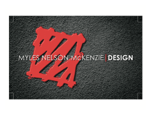 Business Card Design-Myles Nelson McKenzie Design-South Carolina