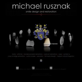 Website Design-Michael Rusznak-Custom Flash Website