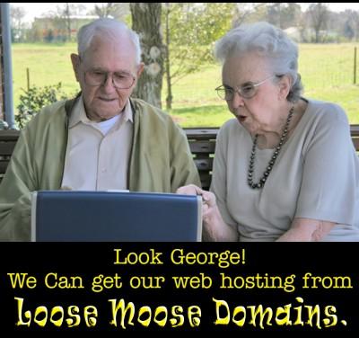 Ad Design-Loose Moose Domains-George