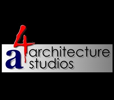 Custom Logo Design-A4 Architecture Studios