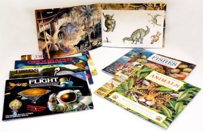 Children's Educational Sticker Books