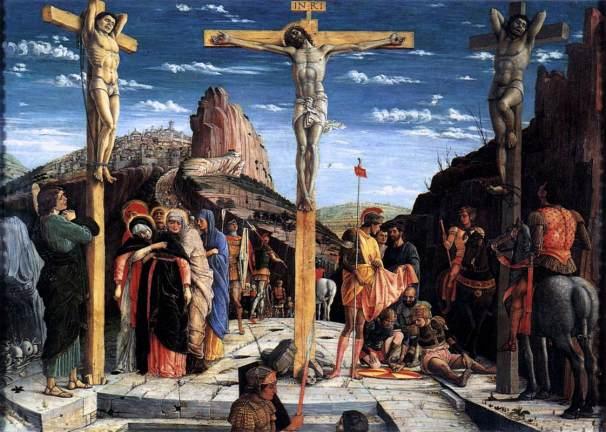 Andrea Mantegna, Crocifissione, 1457-59, Louvre, Parigi