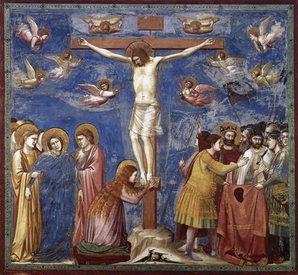 Giotto, Crocifissione, 1304-06, Padova, Cappella Scrovegni