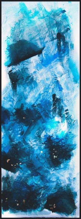 Donata Bonanomi, profondo blu (deep blue), 2013