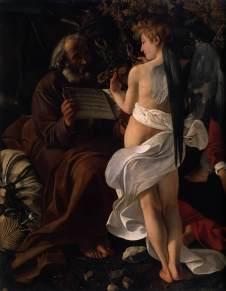 CARAVAGGIO, fuga in Egitto, 1596-97