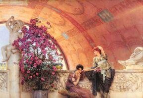 Alma-Tadema, inconsce rivali, 1893, coll. priv.