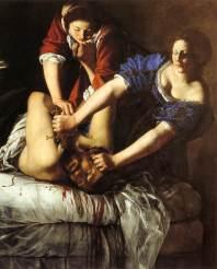 giuditta e oloferne, 1611-12 napoli museo di capodimonte