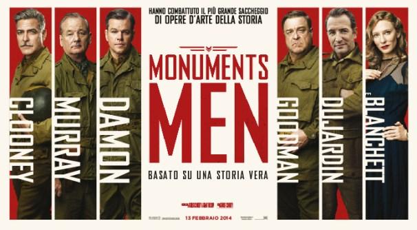 MONUMENTS MEN copertina