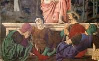 Piero della Francesca, Resurrezione, 1463-65, Sansepolcro, Pinacoteca Comunale dett.1