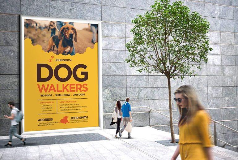 Creative Dog Walkers Flyer Showcase 5