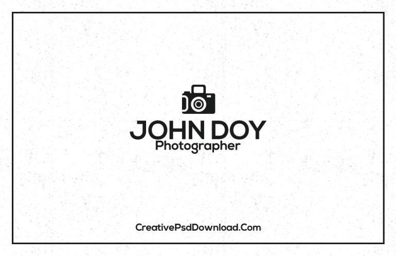 Premium Photographer Business Card Template Back