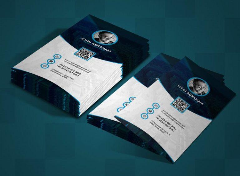 Free Graphic Designer Business Card PSD
