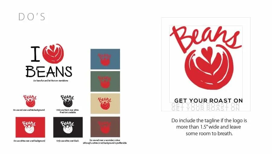 Beans BVI Branding Do
