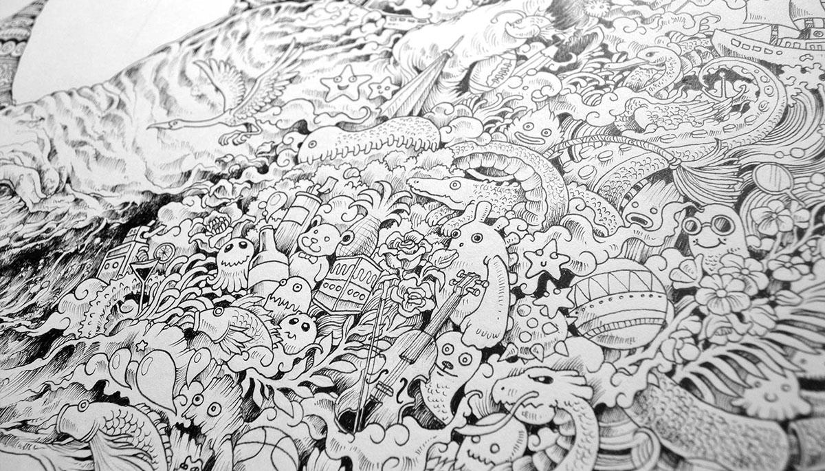 Doodling Kerby Rosanes Creative Safari