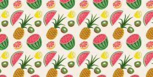 Fruit Tropical Pattern_905_905