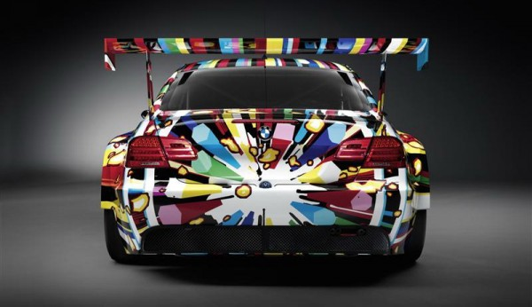 Image of Koons BMW Art Car