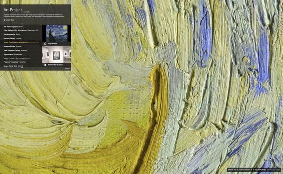 Google Art Project Close Up of Van Gogh's