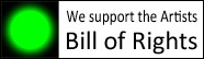Logo for Organizations to Support Artist's Bill of Rights