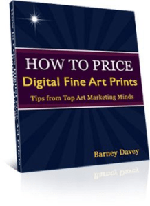Cover of How to Price Digital Fine Art Prints by Barney Davey